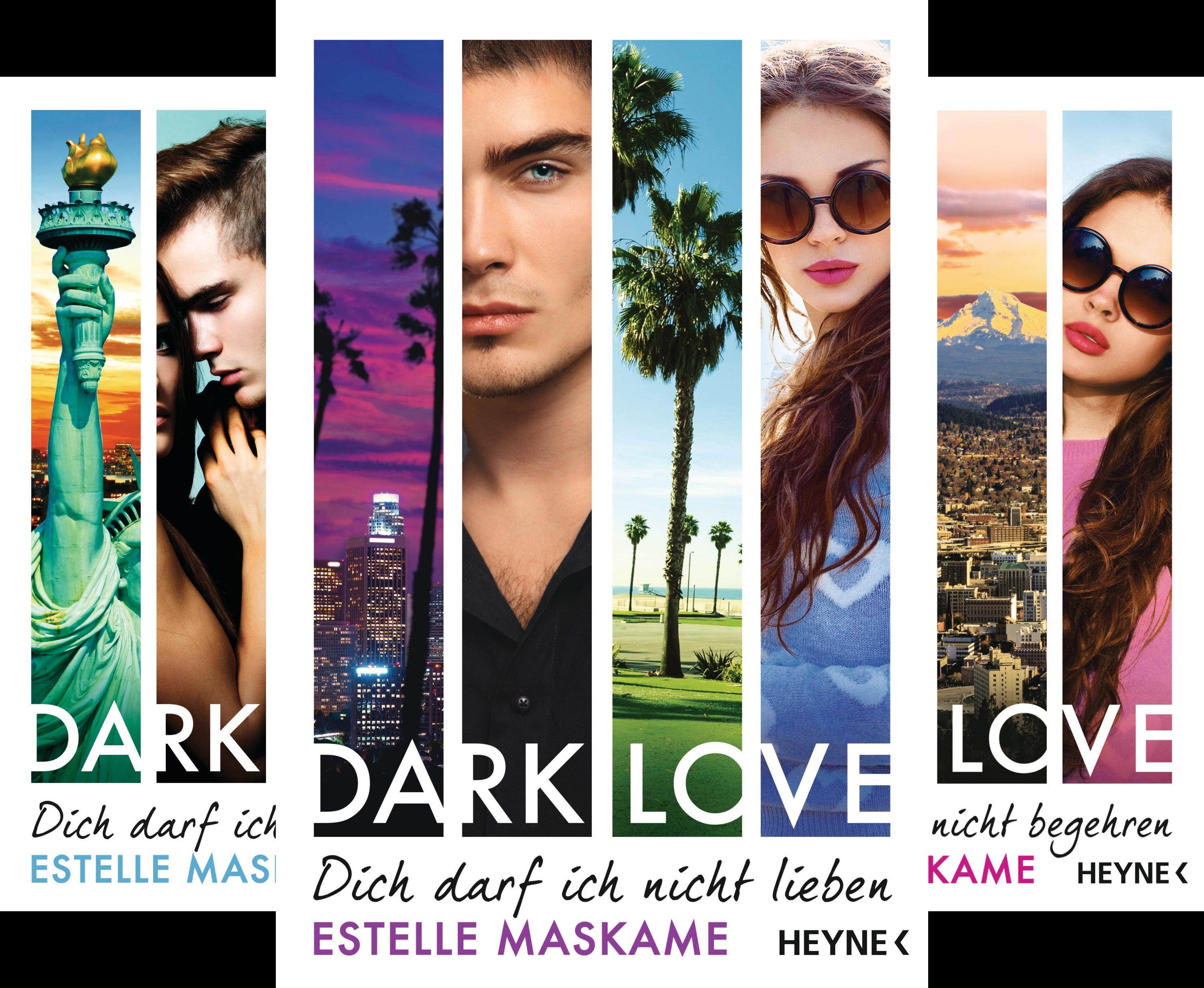 DARK-LOVE-Serie (Reihe in 4 Bänden)