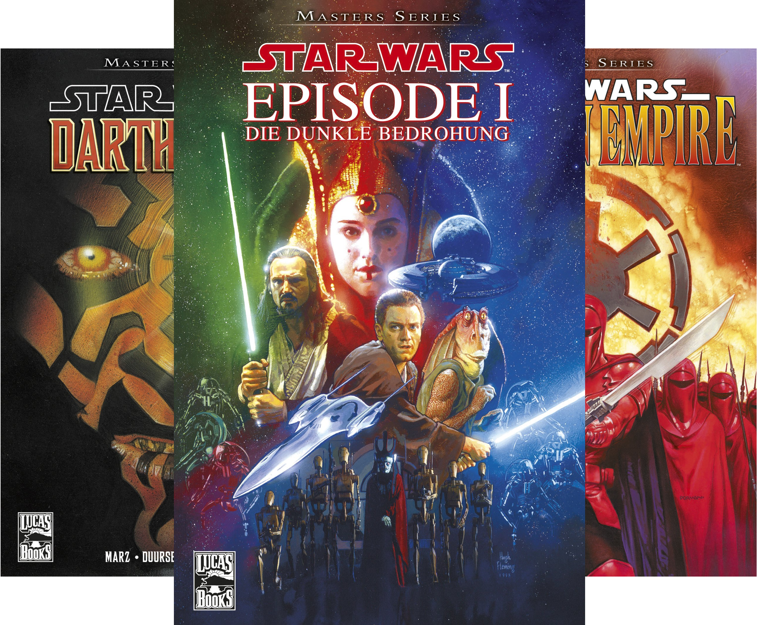 Star Wars - Masters (Reihe in 16 Bänden)