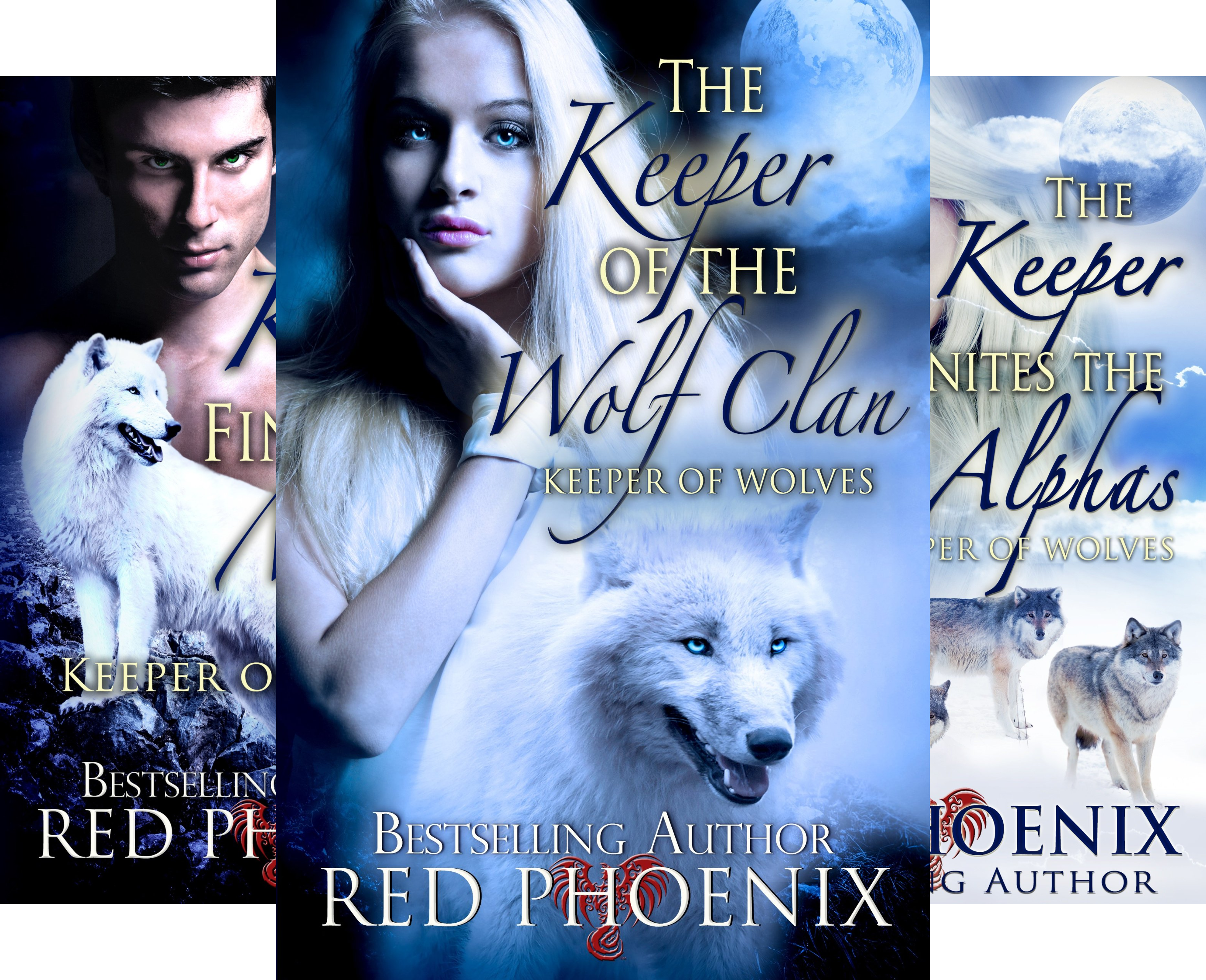 Keeper of the Wolves (3 Book Series)
