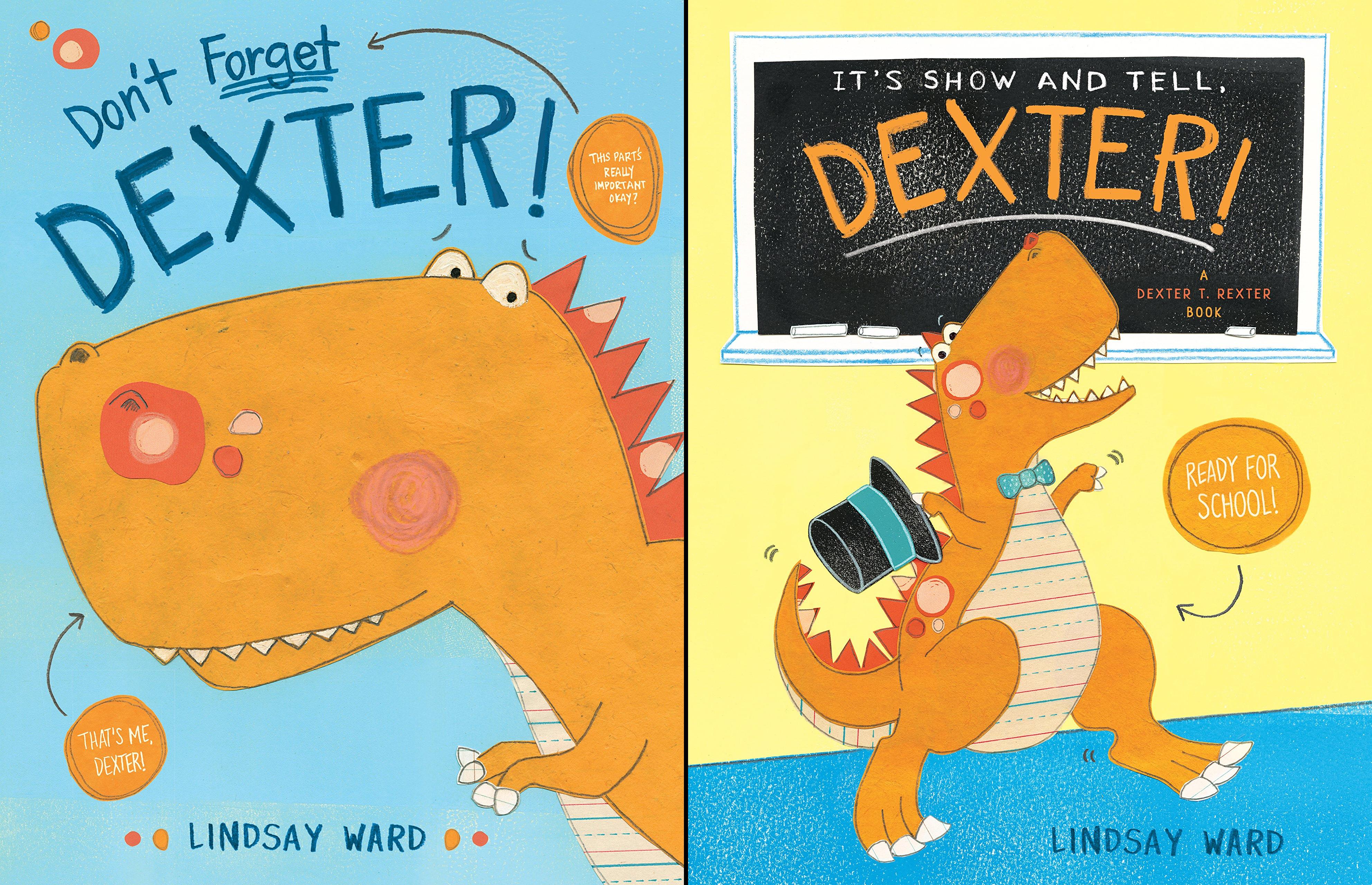 Dexter T. Rexter Series (3 Book Series)