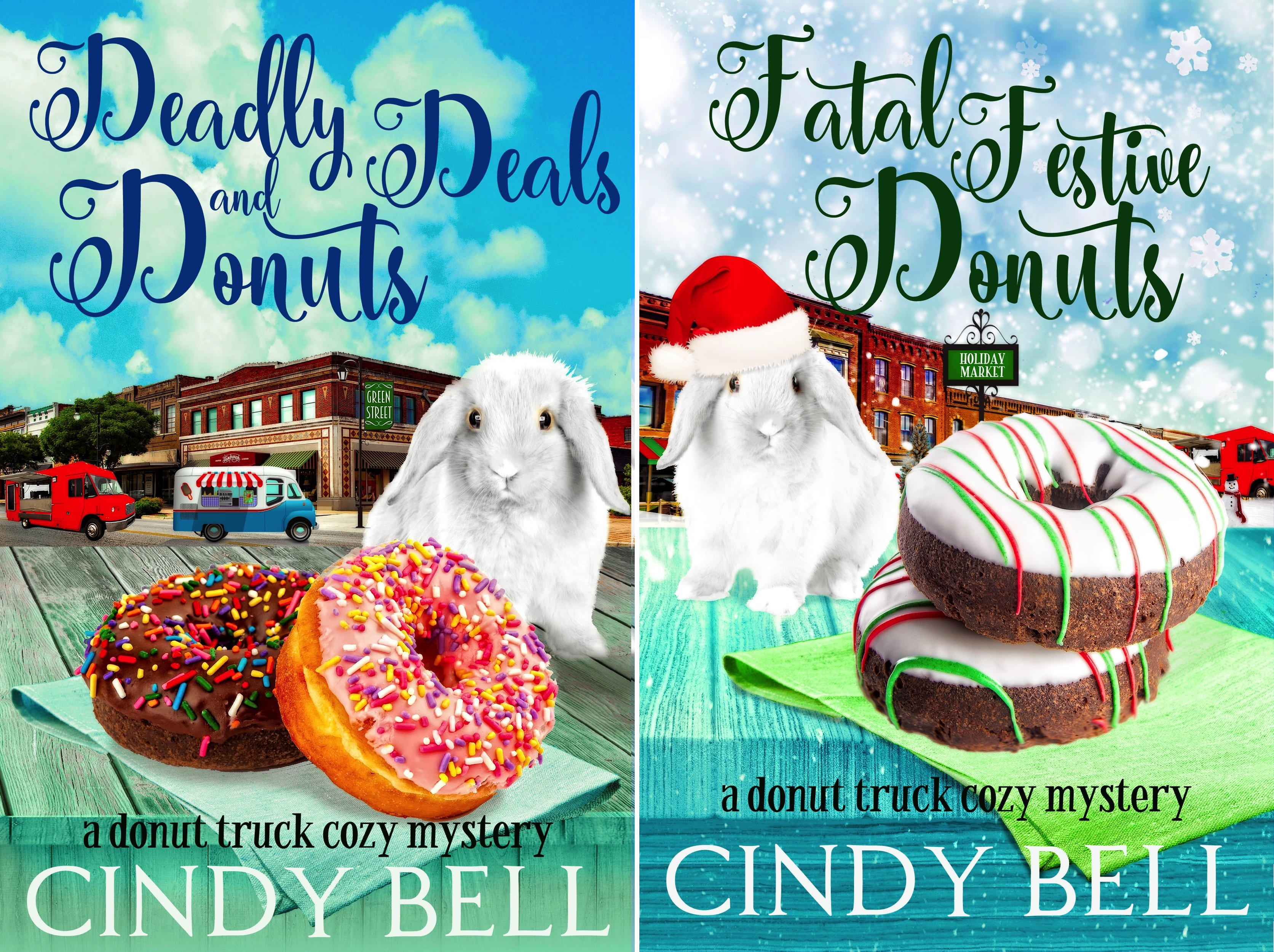 ystery (2 Book Series) (Donut-truck)