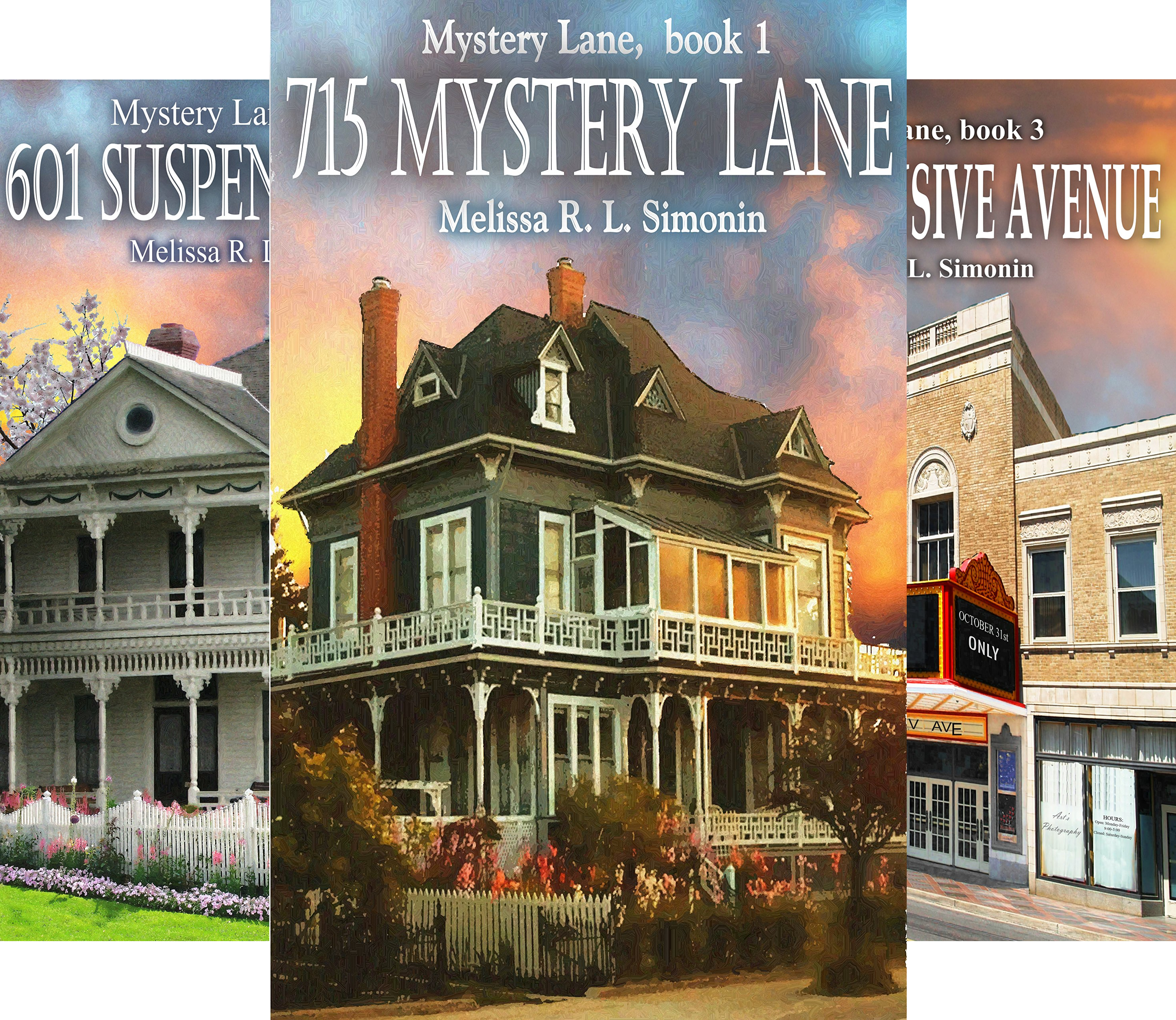Mystery Lane 3 Book Series