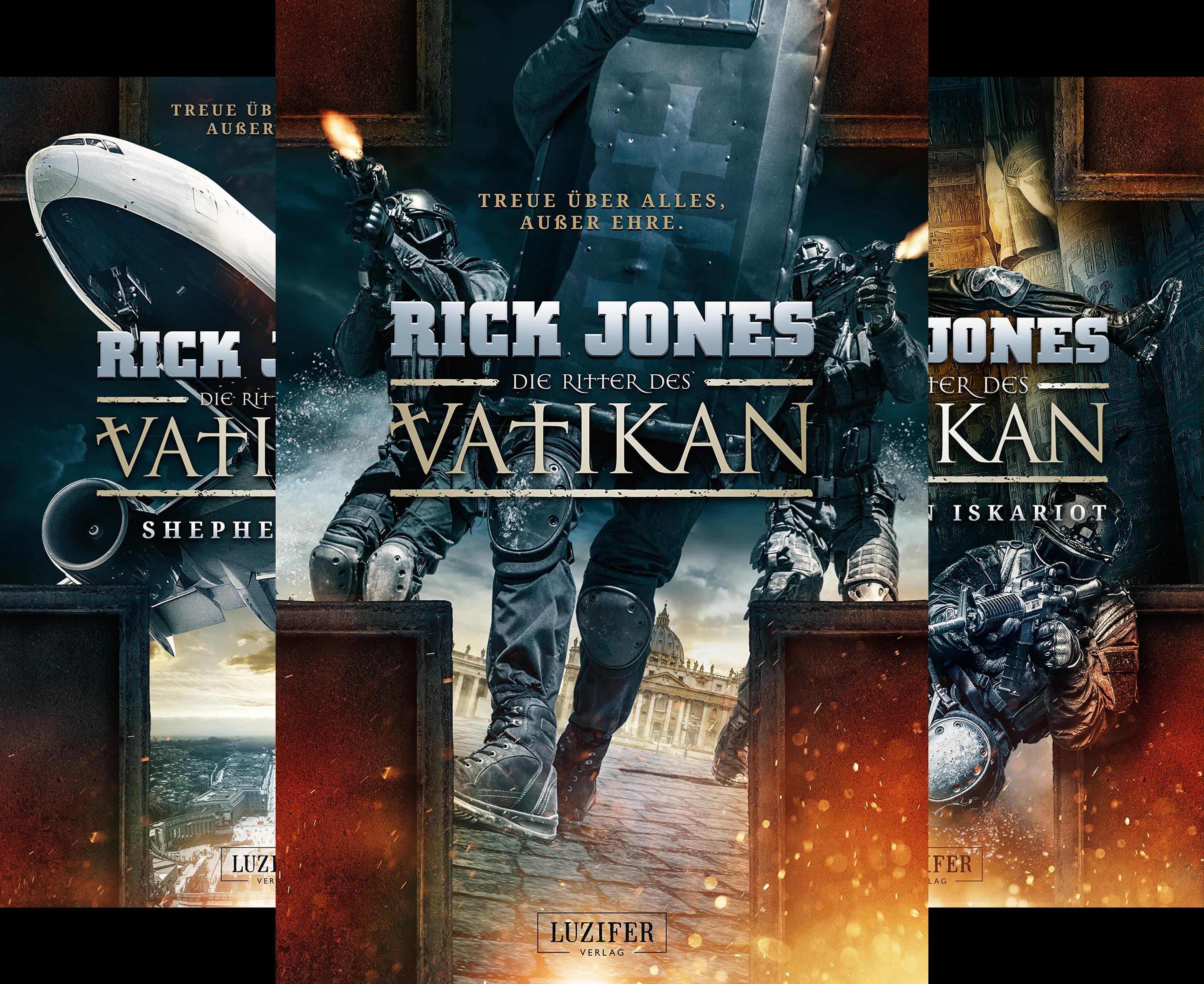 Die Ritter des Vatikan (Reihe in 3 Bänden)
