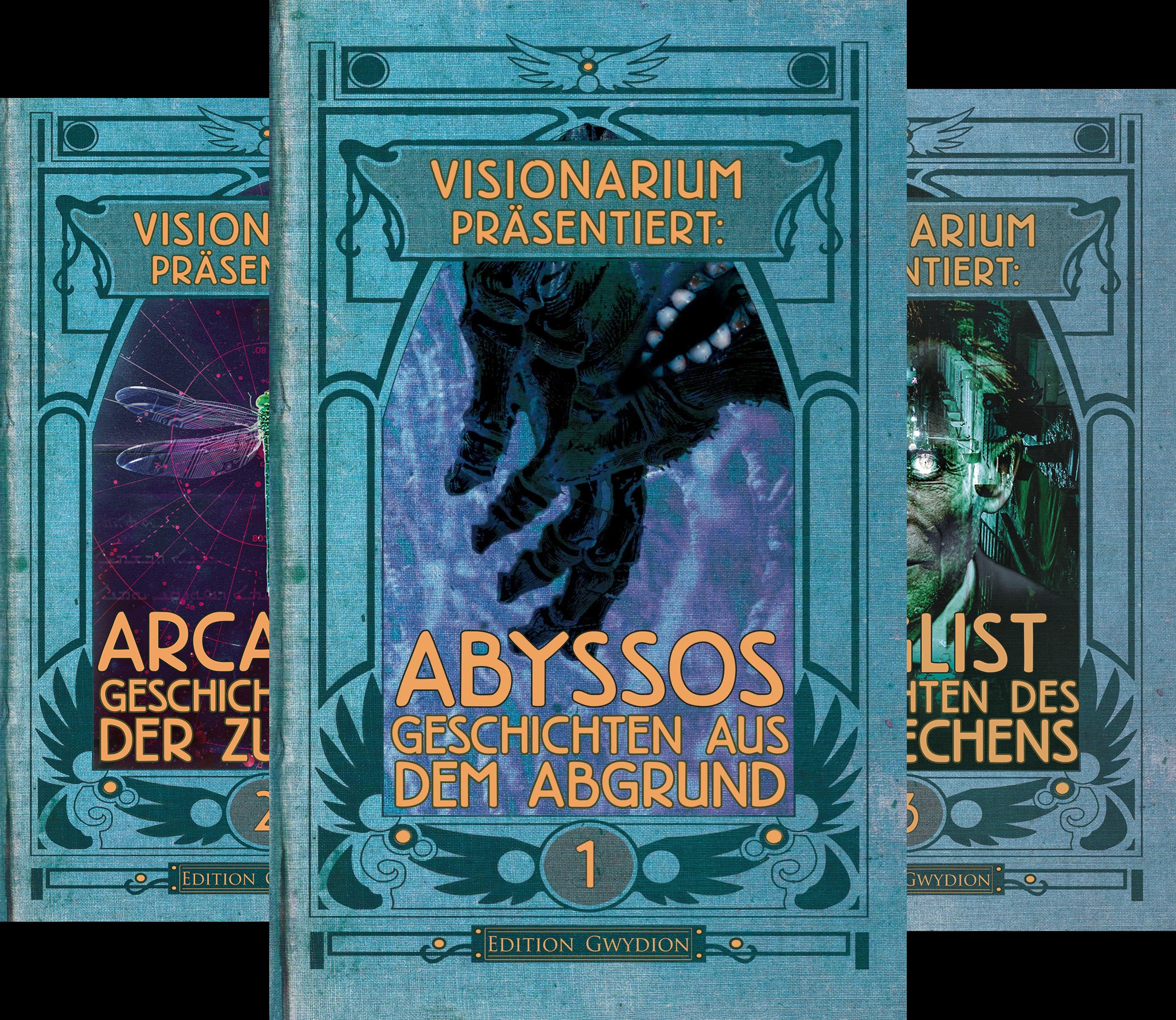 VISIONARIUM präsentiert (Reihe in 3 Bänden)