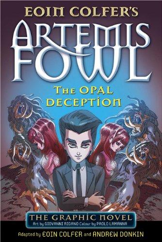 The Opal Deception (Graphic Novel)