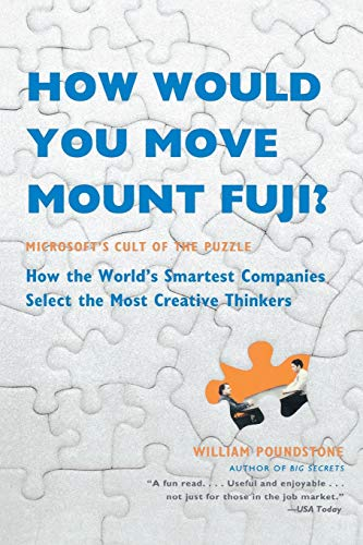 How Would You Move Mount Fuji? — William Poundstone