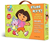 Dora the Explorer Fun Kit with Book(s) and Sticker and Crayons and Punch-Out(s).