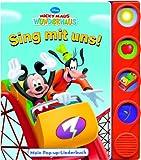 Micky Maus Wunderhaus - Sing mit uns! (Pop-up-Liederbuch mit Klangleiste)