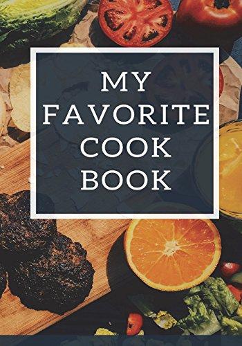 Buy book 'My Favorite Cook Book Blank Cookbook Recipe Binder Cooking