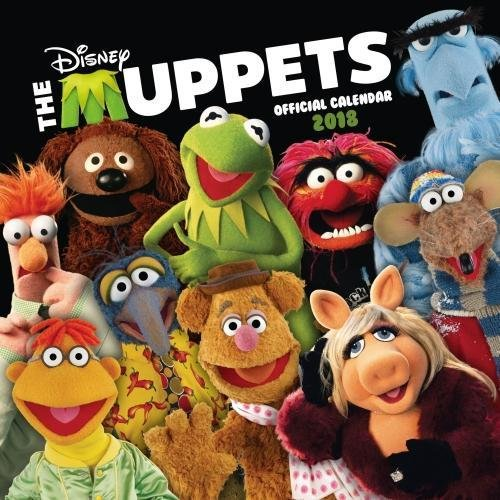 Muppets - Official 2018 Square Wall Calendar