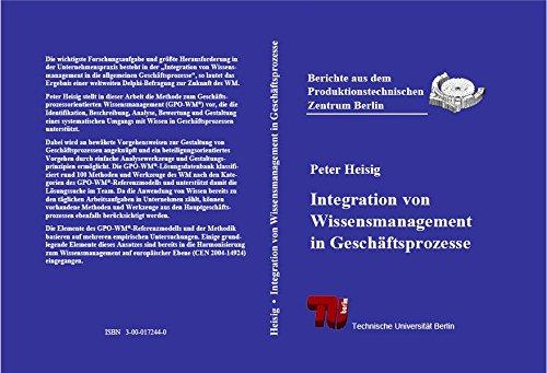 Integration von Wissensmanagement in Geschäftsprozesse