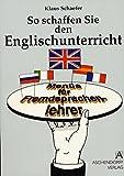 So schaffen Sie den Englischunterricht. Menüs für Fremdsprachenlehrer.