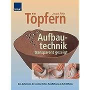 Töpfern. Aufbautechnik - transparent gezeigt. Das Geheimnis der meisterlichen Handführung in Schrittfotos