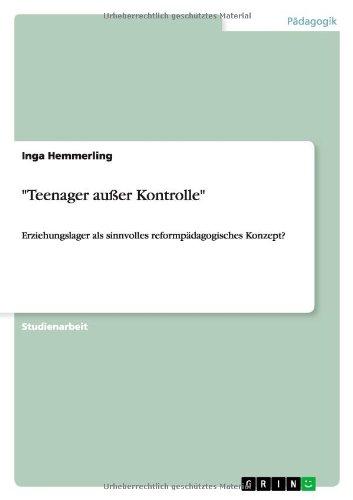 Teenager außer Kontrolle: