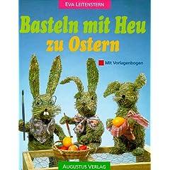 Basteln mit Heu zu Ostern