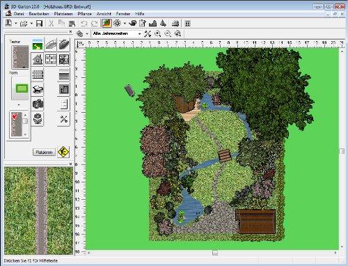3d garten version 10 software for Gartenplaner software