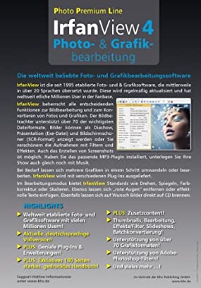 Irfan View 4  Photo-Grafikbearbeitung, Abbildung #01