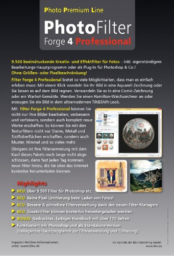 Photo Filter Forge 4 Professional: Amazon.de: Software