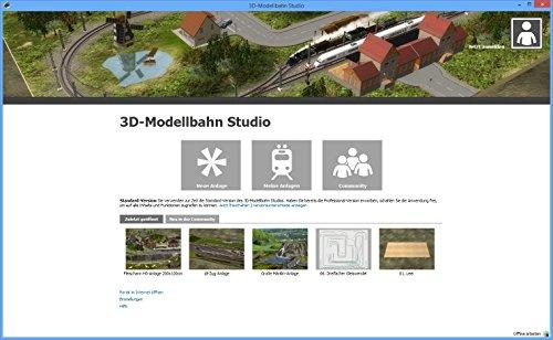 3D-Modellbahn Studio Professional: Amazon.de: Software