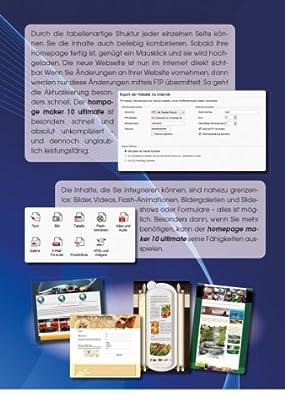 homepage maker 10 ultimate, Abbildung #01