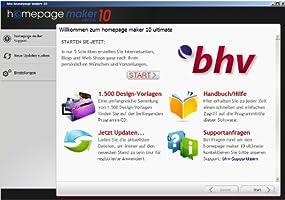 homepage maker 10 ultimate, Abbildung #04