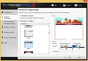 homepage maker 10 ultimate, Abbildung #07