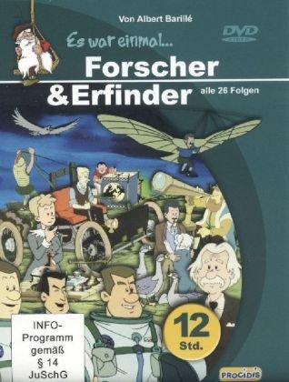 Es war einmal ... Forscher & Erfinder 6 DVDs