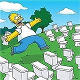 The Simpsons 2007 Kalender.
