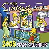 The Simpsons Spaß Kalender, Broschürenkalender 2008