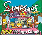 The Simpsons 2008. 366-Tage-Abreiß-Kalender.