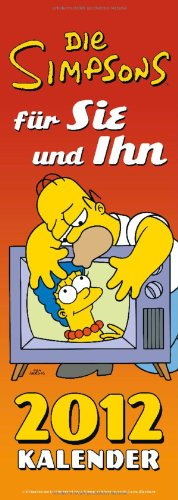 Simpsons Paarplaner 2012: Für Sie und ihn.