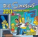 Simpsons Wandkalender 2013: Spaßkalender