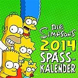 Die Simpsons Wandkalender 2014