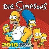 Die Simpsons - Wandkalender 2016