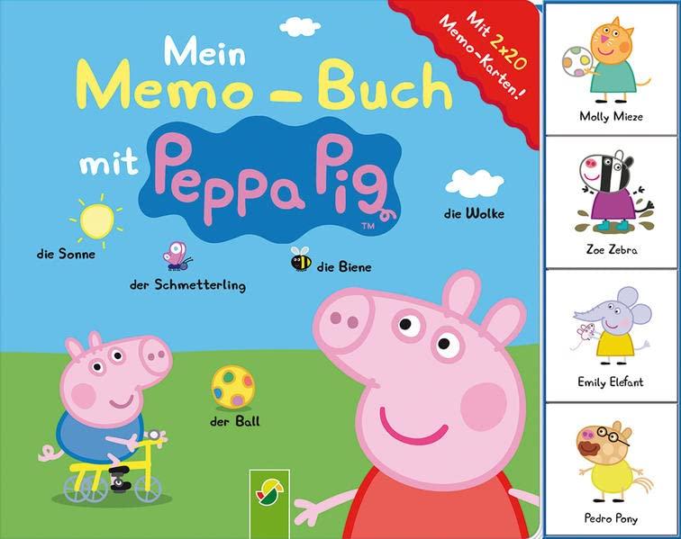 peppa pig englisch mit peppa 250 erste worter und satze