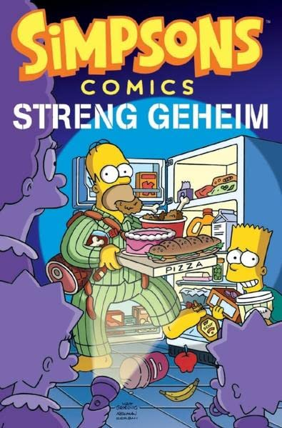 Simpsons Sonderband 21: Streng geheim (Comic)
