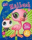 Littlest Pet Shop - Malbuch: Mit farbigen Innenseiten