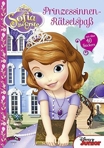Sofia die Erste Prinzessinnen-Rätselspaß (mit über 40 Stickern)