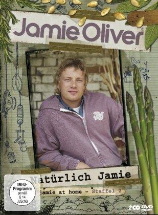 Jamie Oliver - Jamie at Home / Natürlich Jamie - Staffel 2 (2 DVDs)