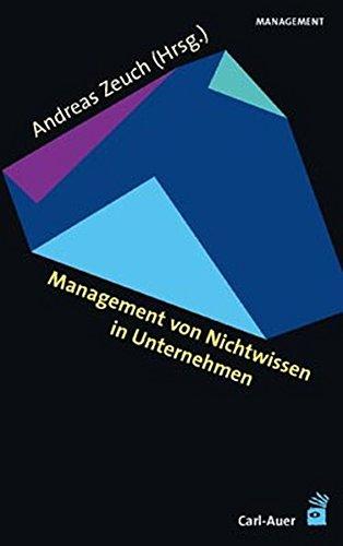 Management von Nichtwissen in Unternehmen