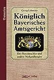 Königlich Bayerisches Amtsgericht. Der Roßtäuschler und weitere Verhandlungen