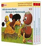 Ach du meine Nase!, Abenteuer im Märchenwald, 3 Audio-CDs