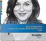"""Christine Brückner liest """"Jauche und Levkojen"""""""