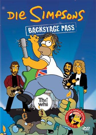 Die Simpsons - Backstage Pass