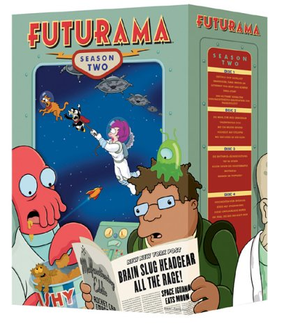 Futurama Staffel 2 Collection (4 DVDs)