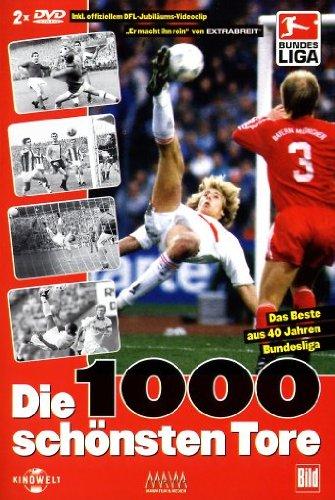 40 Jahre Bundesliga - Die 1000 schönsten Tore (2 DVDs)