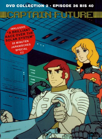 Captain Future DVD Collection 2 (3 DVDs)