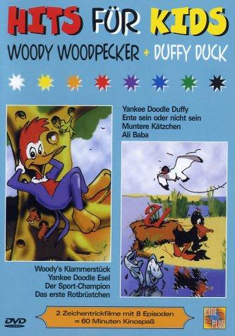 Woody Woodpecker Duffy Duck (inkl. 1 Woody-Woodpecker-Cartoon)
