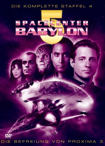 Spacecenter Babylon 5 Staffel 4 - Box Set (6 DVDs)