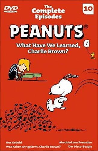 Die Peanuts Vol.10 - What Have We Learned, Charlie Brown?